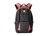 Roxy Drive Out Backpack Borderline Ax True Black 6040 Backpack Bags