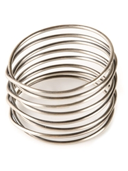 Kelly Wearstler Half Twisted Bracelet Metallic