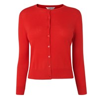 Lk Bennett L.K. Bibi Silk Cotton Cardigans Red