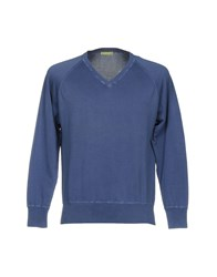 Private Lives Sweaters Slate Blue