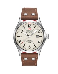 Swiss Military Undercover Watch Brown