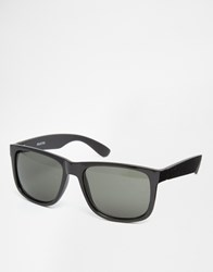 Selected Homme Square Sunglasses Black