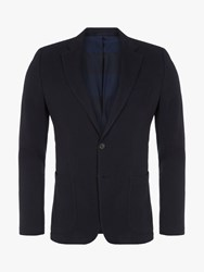 Eden Park Cotton Blazer Navy