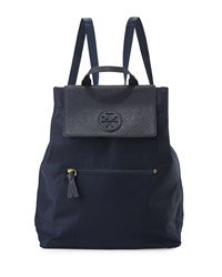 Tory Burch Ella Packable Backpack Navy Tory Navy
