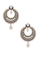 Givenchy Pearl Statement Earrings In Metallics White