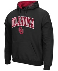 Colosseum Men's Oklahoma Sooners Arch Logo Hoodie Black Red