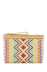 Frye Emma Clutch Multi