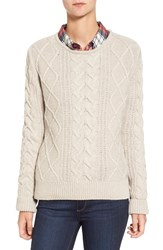 Barbour Women's 'Tidewater' Cable Knit Crewneck Sweater