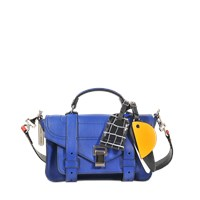 Proenza Schouler Ps1 Tiny Bag With Patchwork Strap