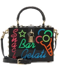 Dolce And Gabbana Box Plexiglas Tote Multicoloured
