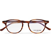 Cutler And Gross Round Frame Tortoiseshell Acetate Optical Glasses Tortoiseshell