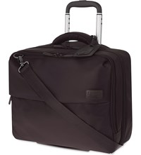 Lipault Plume Business Rolling Tote Chocolate