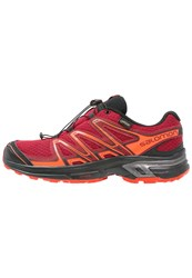Salomon Wings Flyte 2 Gtx Trail Running Shoes Red Dalhia Flame Black