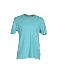 Todd Snyder Topwear T Shirts Men Turquoise