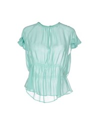 Betty Blue Shirts Blouses Women Turquoise
