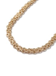 Topman Gold Look Chain Link Necklace