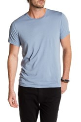 Save Khaki Short Sleeve Crew Tee Blue