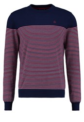 Merc Birch Jumper Navy Dark Blue