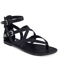 G By Guess Hearn Caged Sandals Women's Shoes Black