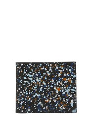 Maison Martin Margiela Paint Dots Printed Leather Wallet