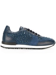 Philipp Plein 'Go Home' Sneakers Blue