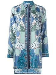 Versace Collection Baroque Print Tunic Multicolour