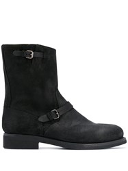 Buttero Buckle Detail Ankle Boots 60