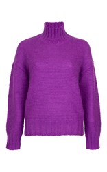 Baum Und Pferdgarten Cosimo Turtleneck Sweater Purple