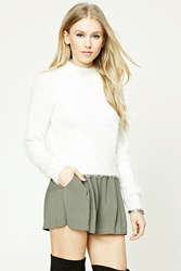 Forever 21 Pleated Woven Shorts