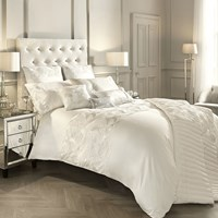 Kylie Minogue At Home Adele Duvet Cover Oyster White