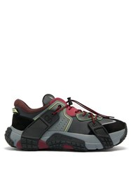 Valentino Wod Technical Trainers Grey Multi