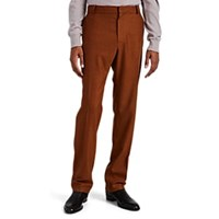 Martin Grant Wool Slim Trousers Orange