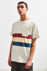 Katin Stripe Pocket Tee Neutral Multi