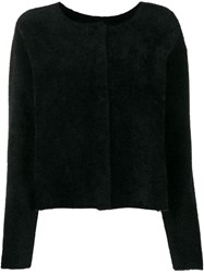 Twin Set Textured Cardigan Black
