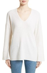 Rag And Bone Women's Phyllis Cashmere Sweater Ivory