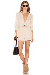 The Fifth Label Born Free Playsuit Beige