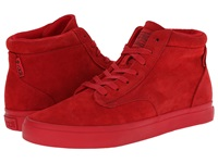 Radii Basic Red Red Wolverine Suede Men's Shoes