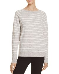 Current Elliott The Perfect Stripe Sweatshirt Heathered Stripe