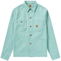 Human Made Pastel Coverall Jacket Green