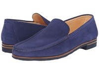 Gravati Bridge Venetian Loafer Jeans Men's Slip On Shoes Blue
