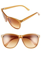 Electric Eyewear Women's Electric 'Encelia' 61Mm Retro Sunglasses Caramel Bronze Gradient