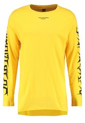 New Look Say Nothing Long Sleeved Top Bright Yellow