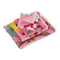 Pip Studio Floral Fantasy Towel Pink Bath Towel