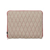 Hay Quilt Sleeve Laptop Cover Red 13