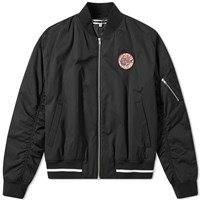 Mcq By Alexander Mcqueen Patch Ma 1 Jacket Black