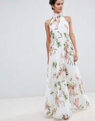 63c958015 Ted Baker Pleated Maxi Dress In Harmony Floral Print Multi