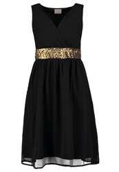Vero Moda Vmalma Cocktail Dress Party Dress Black Gold