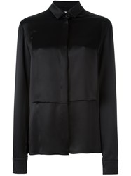Maison Martin Margiela Long Sleeve Blouse Black