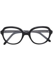 Selima Optique 'Colette' Glasses Acetate Black