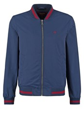 Merc Monkey Bomber Jacket Navy Dark Blue
